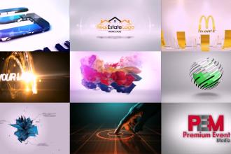 create bumper logo animation or youtube intro video