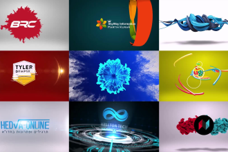 create animated 3d logo intro videos in 24 hours