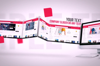 make promotional video for your website and company