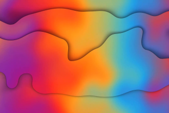 create professional abstract background gradient liquid animation