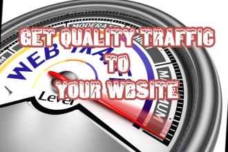 get your website traffic