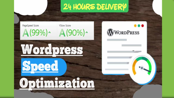 Do wordpress speed optimization by Devlegend