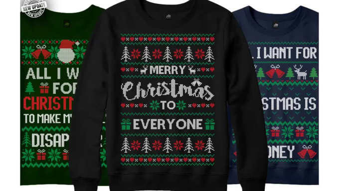Ugly Christmas Sweater Design.Do Ugly Christmas Sweater And T Shirt Design