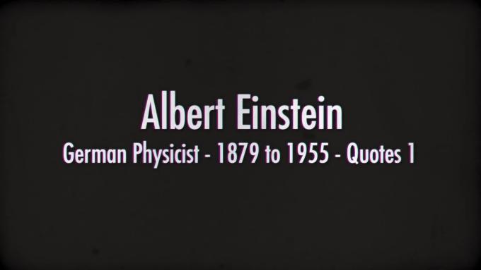 send facebook video of albert einstein quotes by videosyes
