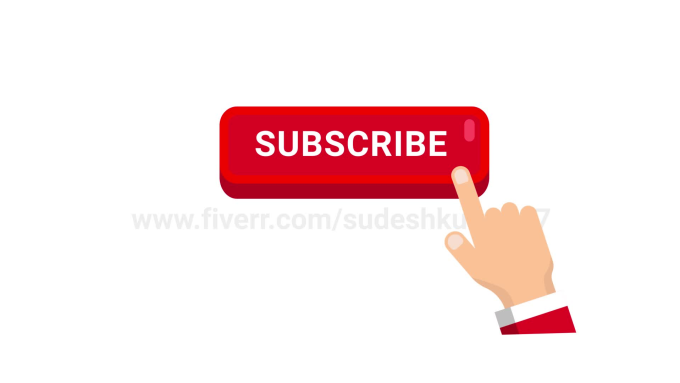 Make Subscribe Bell Notification Animation For Youtube By