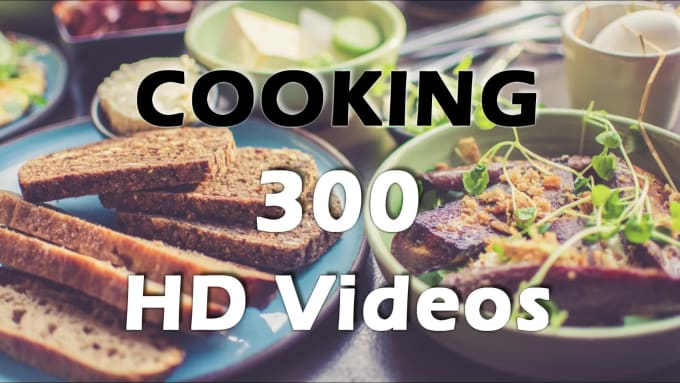 Give 300 Cooking Recipes Hd Quality Videos By Dylan Cc