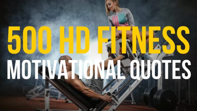 Create 500 Hd Fitness Motivational Quotes For Instagram By Mrquotescreator