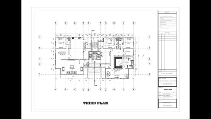 Draw your architectural floor plans and