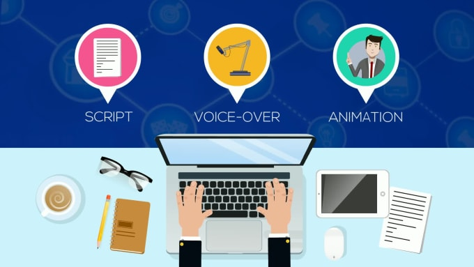 create engaging 2d animated explainer video
