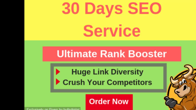 full white hat SEO package to boost website ranking on google