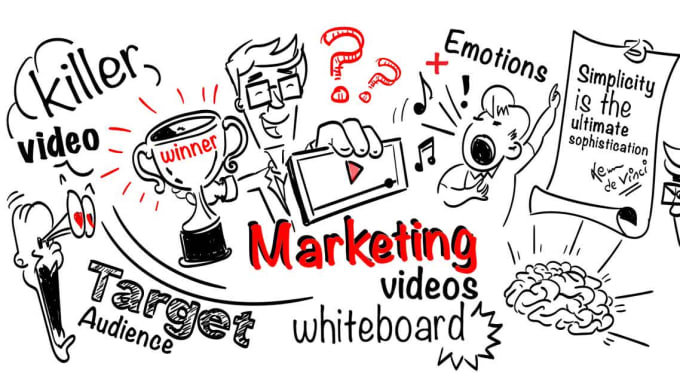 Create custom whiteboard animation explainer video by Taaniinbuzz