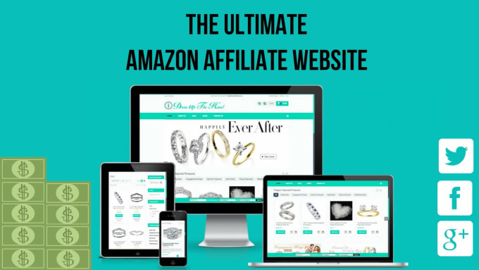 Build you the ultimate amazon affiliate website by Geniuskem