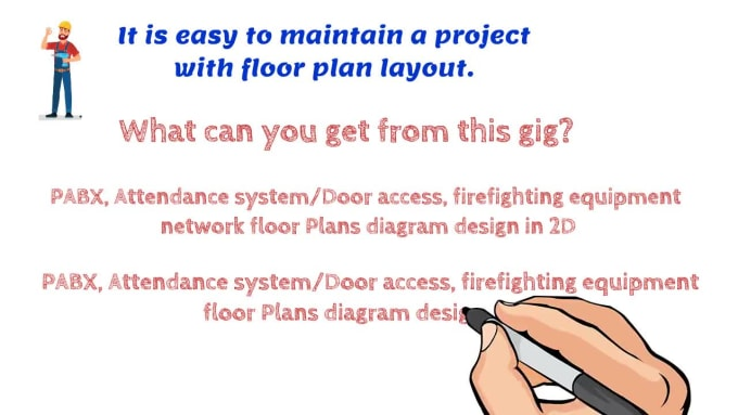 Design Floor Plan Layout Pabx Door Access Firefighting By Nazmulnizam Fiverr