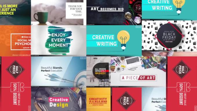 Design 5 Stunning Social Media Posts By Ali Raxa