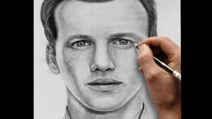 A4 Amazing pencil portrait from your photo