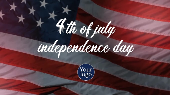 design 4th of july independence day