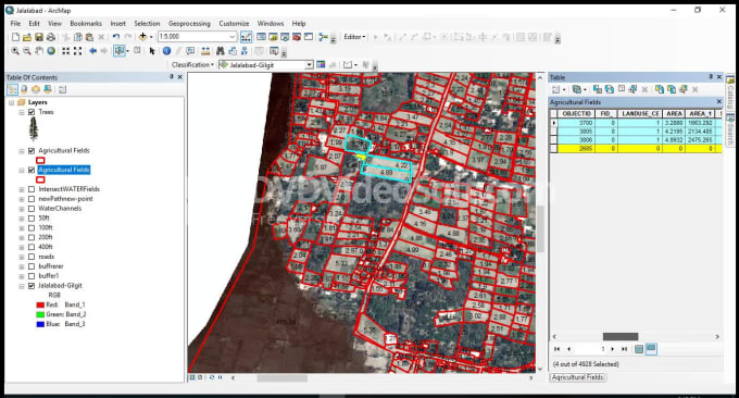 do georeference and digitize your gis maps