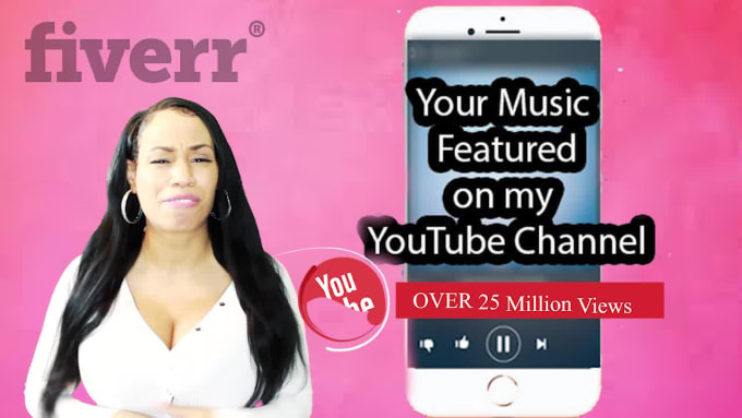 Feature Your Music On My Youtube Channel W 500k Subscribers By Prettykeli