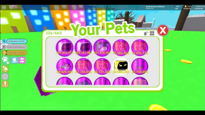 pet roblox simulator pets sell fiverr screen