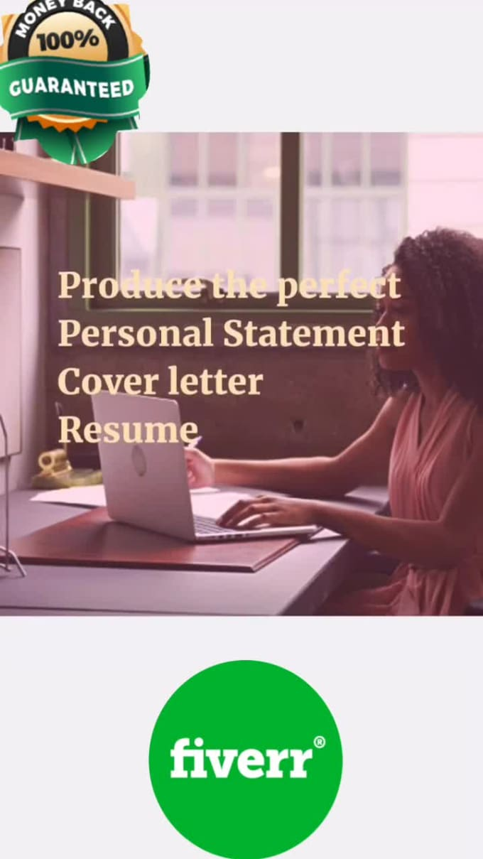produce the perfect personal statement or cover letter by