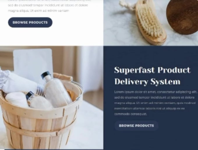 design your online store, or your services website