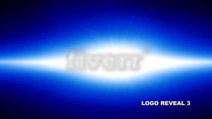 do 3 amazing logo reveals in 24 hours