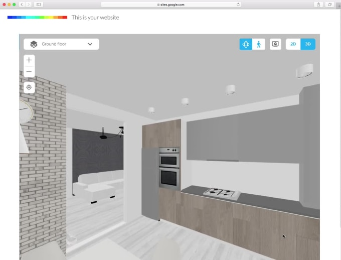 Create An Interactive 3d Floor Plan With Floorplanner By Holism