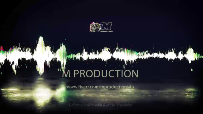 Design Aesthetic Music Visualizer Video By Mproductions4u