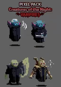 Create Pixel Art Characters For Games By Licinio Souza
