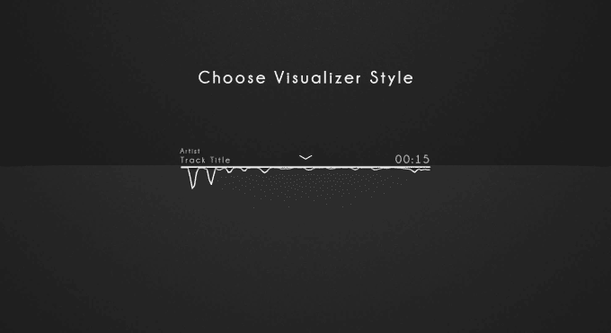 Make you a professional minimal music visualizer by Alekpbeats