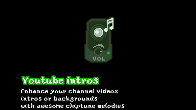 compose original 8bit 16bit chiptune music for your project