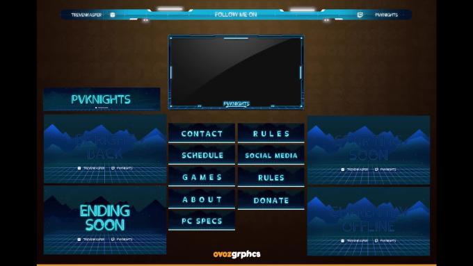create animated stream overlays, webcam, layout, screen