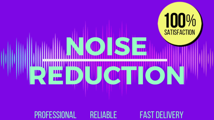 remove background noise from your audio or youtube video
