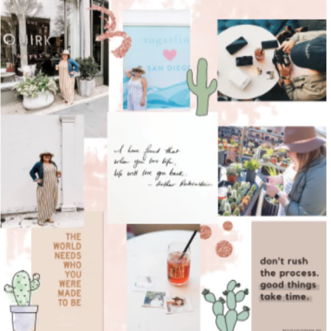 create instagram graphics that have a puzzle layout or any theme