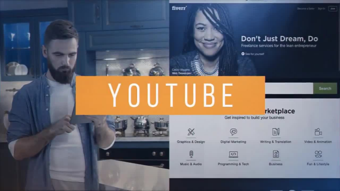 produce a modern facebook video ad for your business