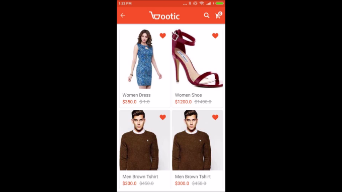 develop an ecommerce app android with admin panel