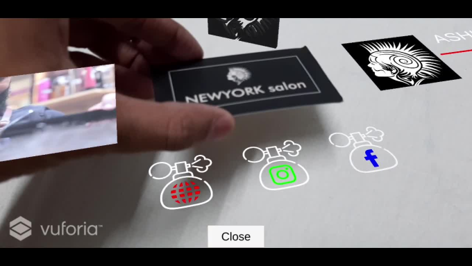 Create Ar Or Augmented Reality Business Or Invitation Card