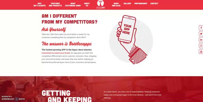 build a stunning website