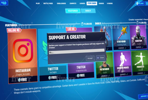 Create Custom Fortnite Sac Item Shop Animation 60fps By W1happy Today's current fortnite item shop and community choice pick. create custom fortnite sac item shop animation 60fps
