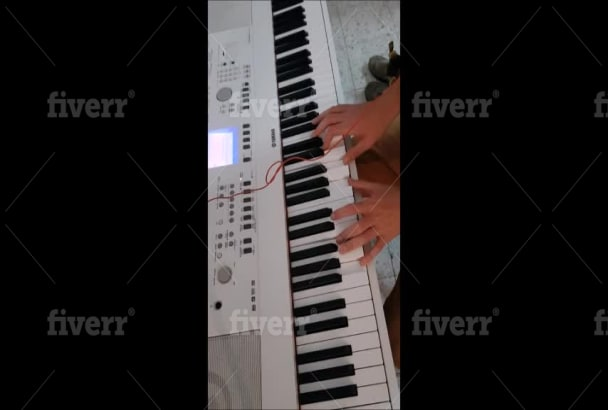 cover any song you want in piano