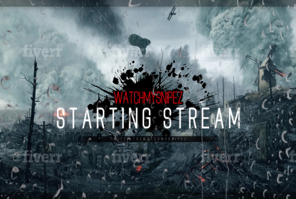 make your twitch stream brb, start and end video overlay