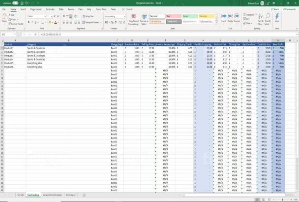 Create A Cash Flow Forecast Spreadsheet