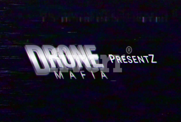 create an 80s vhs retro intro animation video of your text, logo or brand