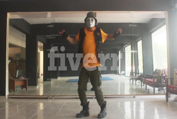 professionally robot dance like jabbawockeez to any song