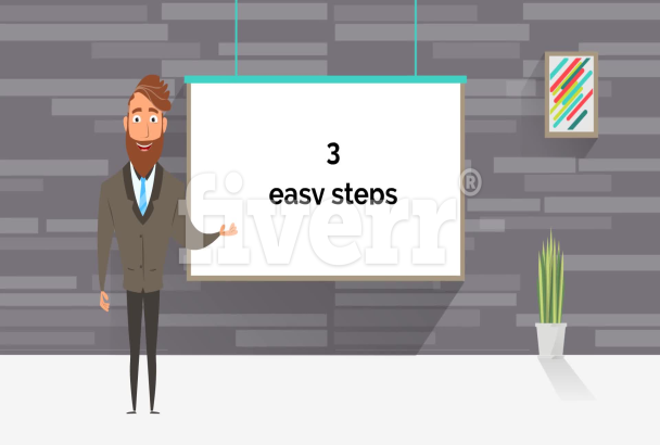 Create A D Animation Or Cartoon Explainer Video