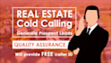 do real estate cold calling to generate prospect leads